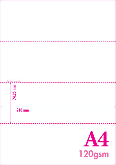 a4 micro perforated event tickets 4 tickets per sheet with single stub