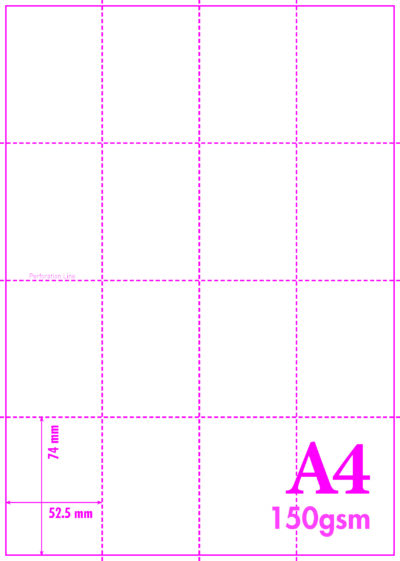 Micro perforated Card