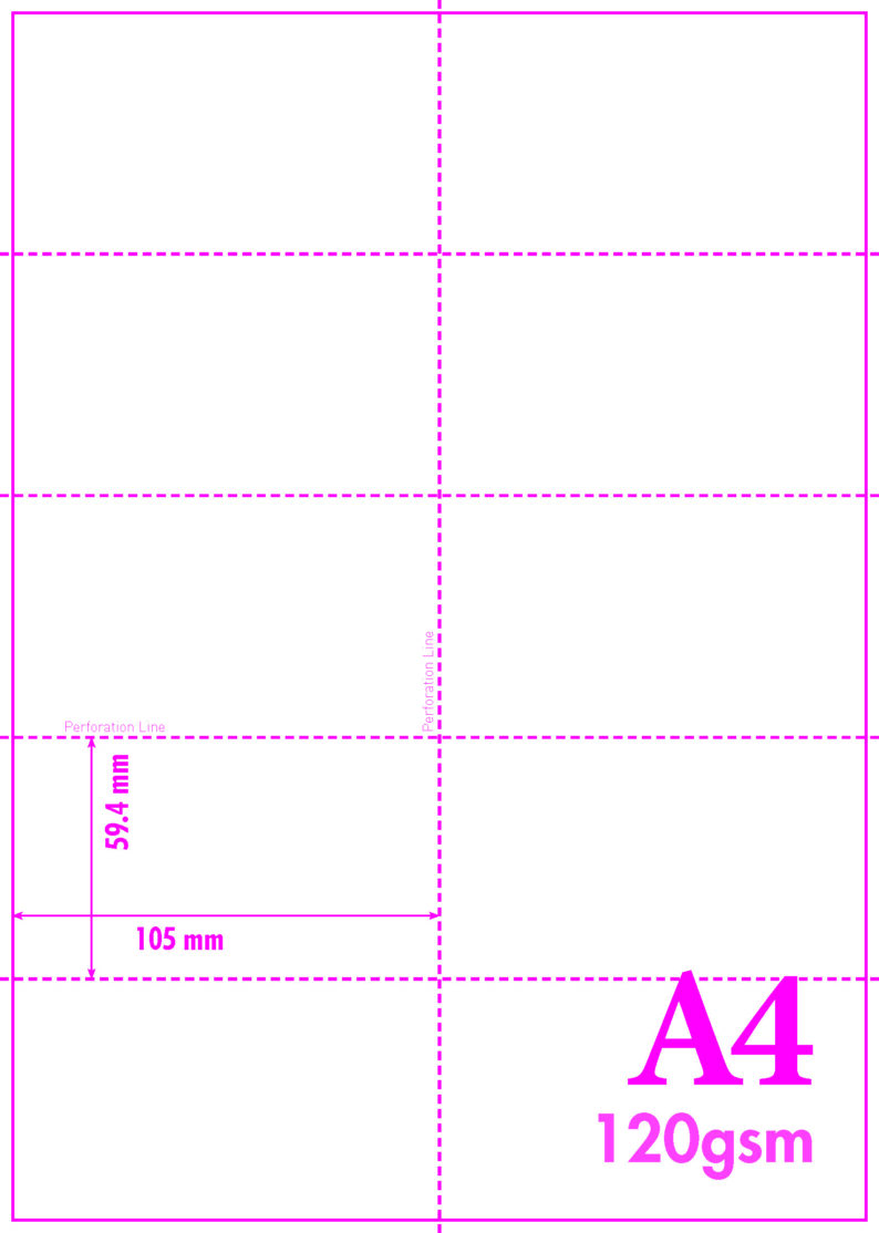 MICROPERFORATED CARDS