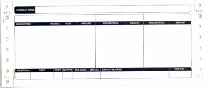 SAGE COMPATIBLE SECURITY PAYSLIP