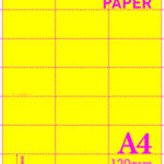 A4 Blank Perf 120gsm 3-21Y