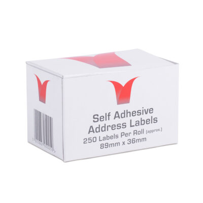 box of 250 labels