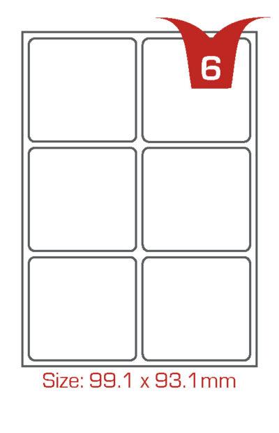 6 labels per sheet