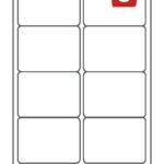 Avery labels 8 per sheet