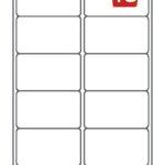 10 labels avery sheet