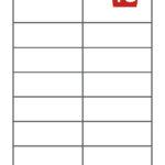 16 labels per sheet
