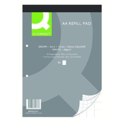 Q-Connect A4 Graph Refill Pad 80 Sheet