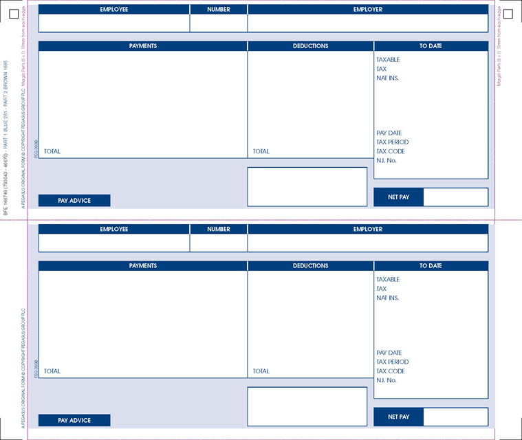 blank wage slips – Basic Payslip Template Excel Download