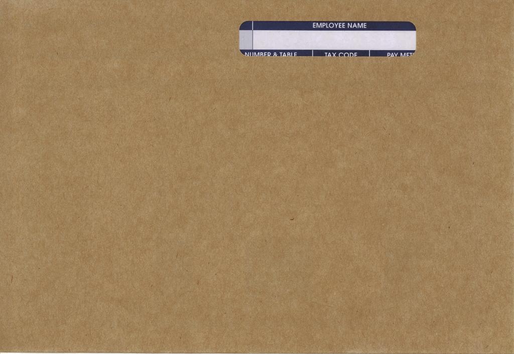1000 IRIS PAYE-Master Payroll Compatible Self Seal Laser Payslip Envelopes RF02
