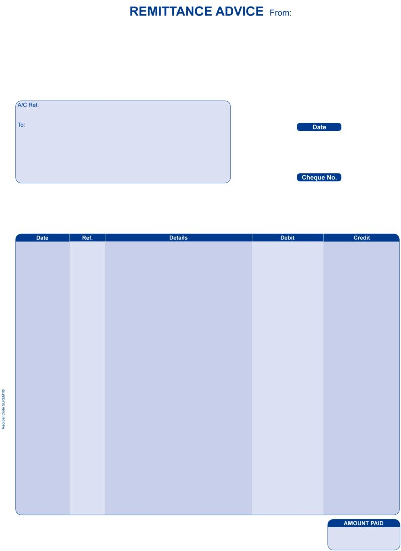Compatible Sage Remittance Advice (Laser)