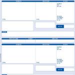 PEGASUS COMPATIBLE 1 PART A4 LASER PAYSLIP WITH ADDRESS – 2 PER SHEET