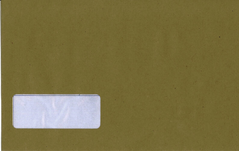 PEGASUS ENVELOPE with ADDRESS BOX (PEG650 COMPATIBLE)