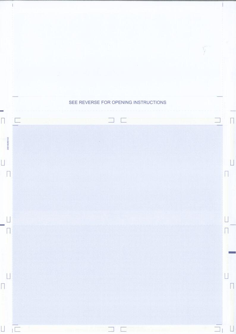 INTEX Z-fold Pressure Seal payslip