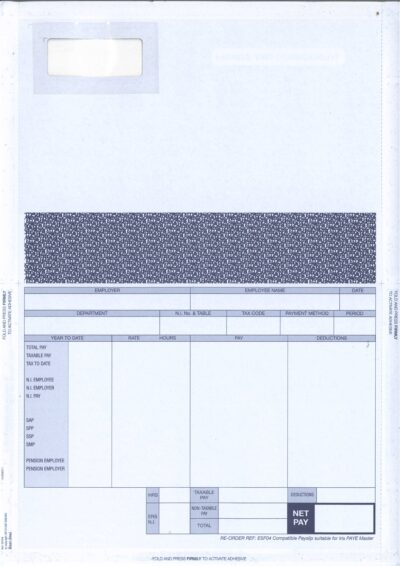 IRIS SELF SEAL PAYSLIPS