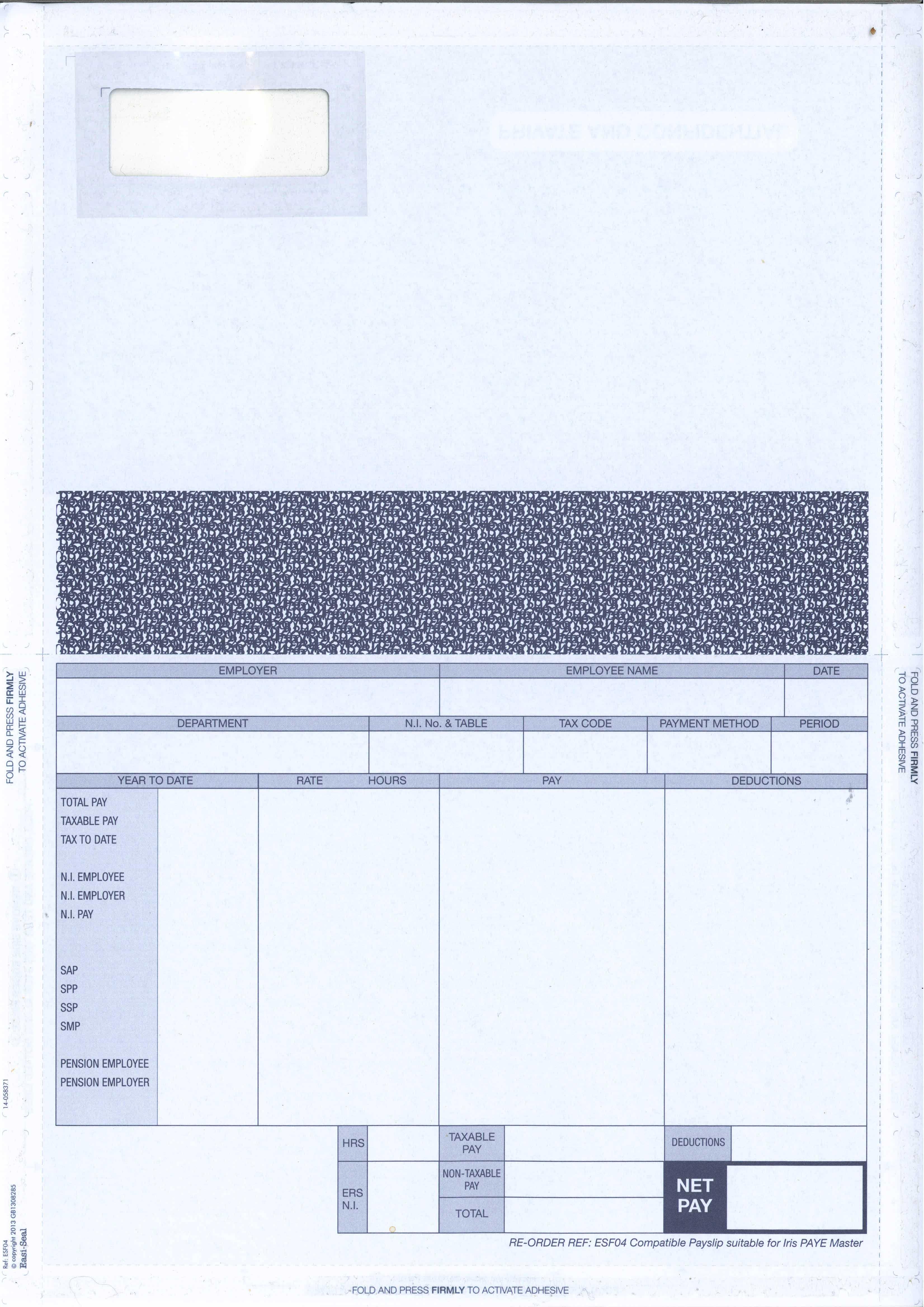Doc524675 Samples of Payslips Doc524675 Payslip Samples – Sample of Payroll Slip